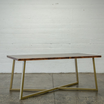 modern wood dining table