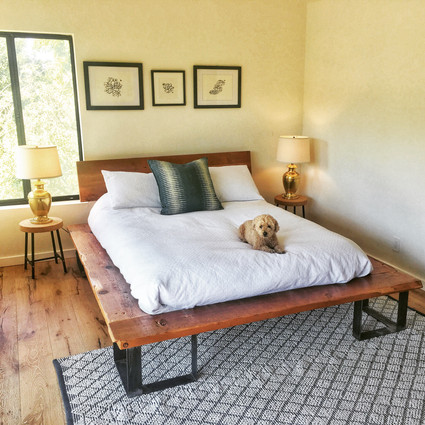 custom height bed made in los angeles