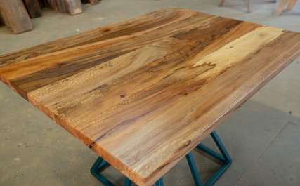 mid century modern sycamore dining table