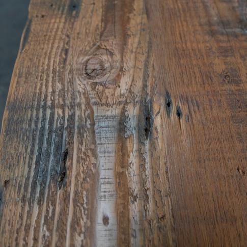 dark reclaimed wood farmhouse furniture