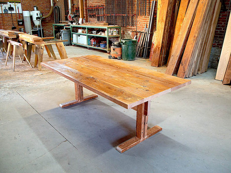 """""""The Antico"""" Rustic Reclaimed Dining Table - $2800"""