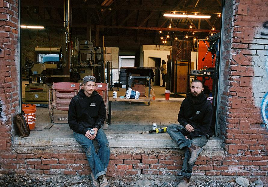 Preston and Kyle - Parkman WOodworks