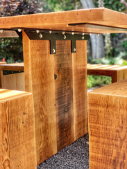 well built outdoor table
