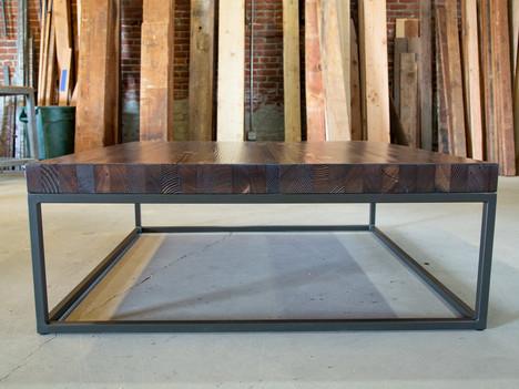 """The Azniv"" Butcher Block Coffee Table - $1750"