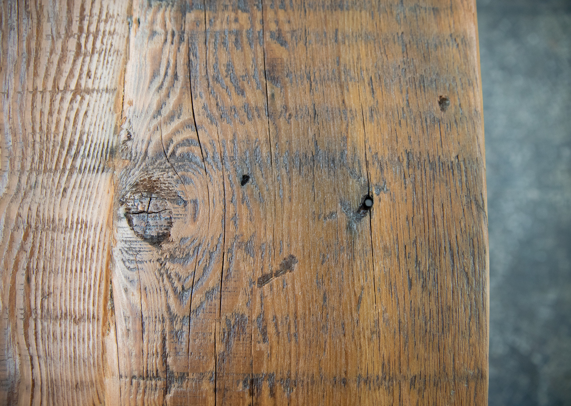 rustic wood dining table top