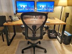custom home office computer desk