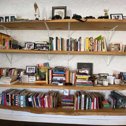 hardwood shelves made in los angeles