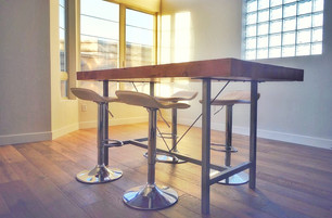 butcher block kitchen table