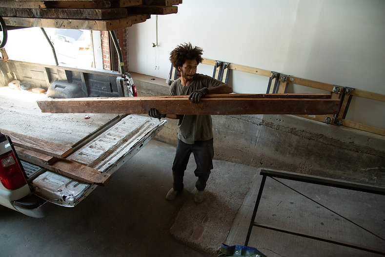 solid wood table makers los angeles