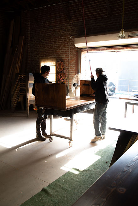 local los angeles sustainable wood shop