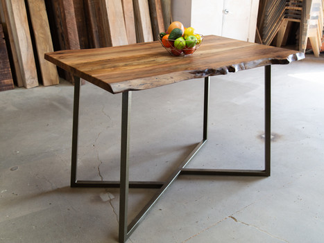 Live Edge Sycamore Bar Height Table - $3300
