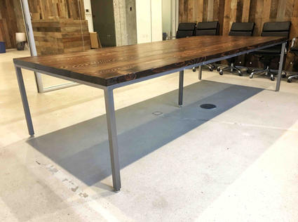 parsons style conference tables