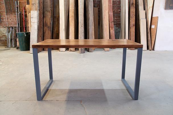 rustic wood work desk los angeles