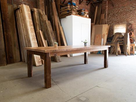 Long Farmhouse Dining Room Table - $2950