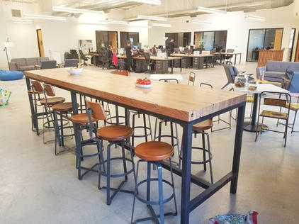 bar height meeting tables