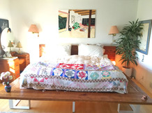 king bed frame hand made in los angeles