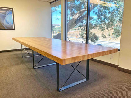 conference tables with outlets