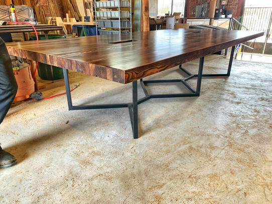 unique handmade conference tables
