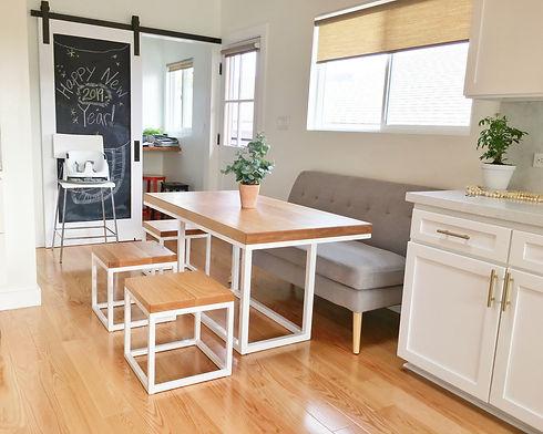 Custom Solid Hardwood Dining Table