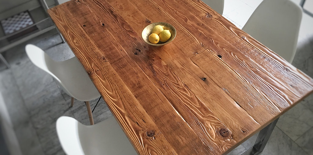 Custom Reclaimed Wood Furniture Parkman Woodworks Los Angeles