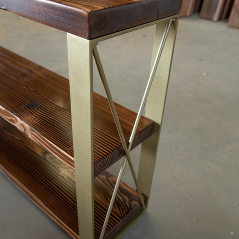 modern console entryway table