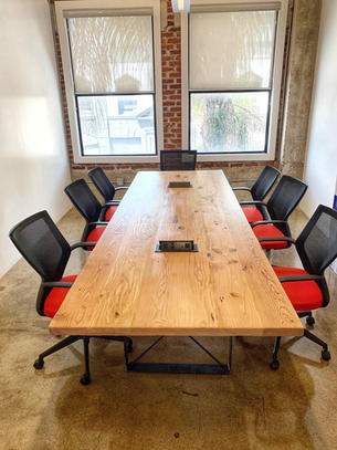 conference tables with cable management