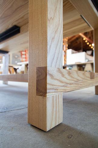 hardwood dining table los angeles