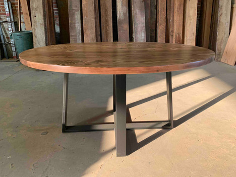Oval Dining Table with Pedestal Base - $1700