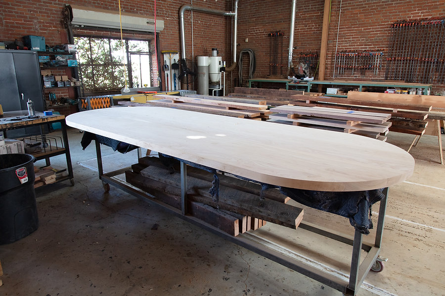 12 seater custom wood tables los angeles