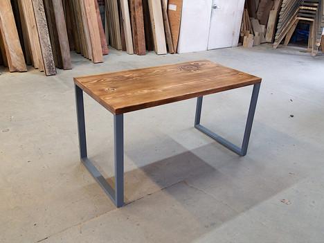 Reclaimed Wood & Steel Computer Desk - $1300