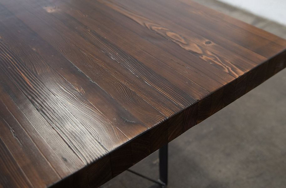 thick wood dining table sets