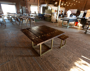 custom dining table for outdoor