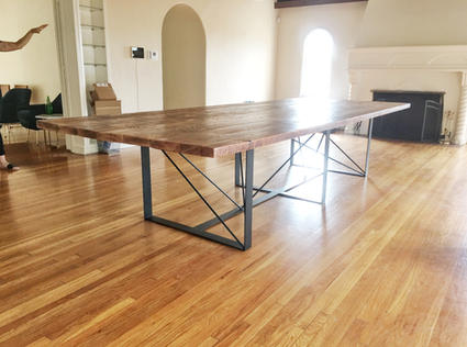 custom wood conference tables
