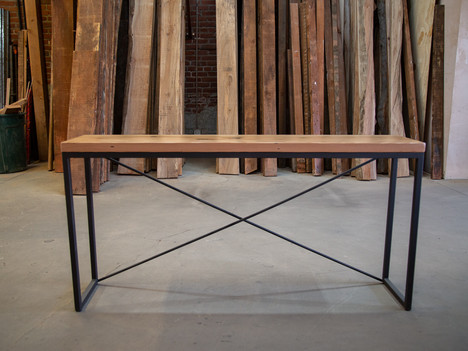 """""""The Juan"""" Console Table with Light Wood - $700"""
