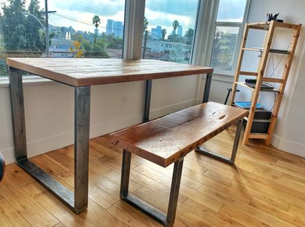 solid wood computer desk