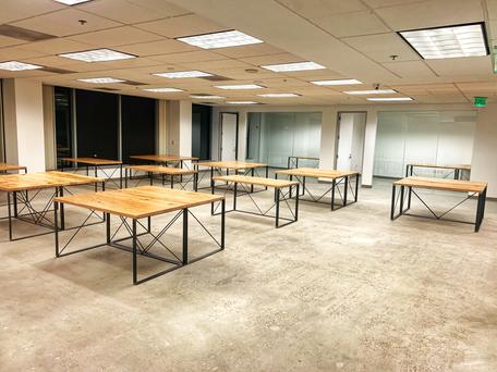 hand made office desks