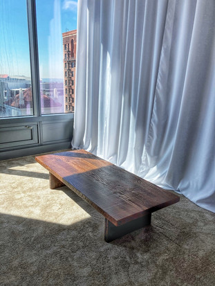 solid all wood coffee table los angeles