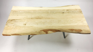 live edge coffee table made in los angeles