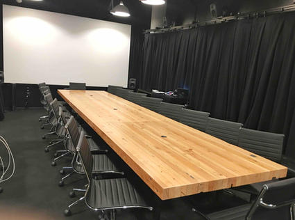 extra long conference tables