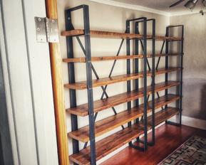custom made bookshelf unit