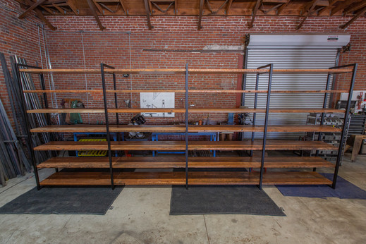 large retail shelving units commercial