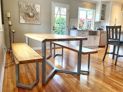 Custom Reclaimed Wood Furniture Parkman Woodworks Los