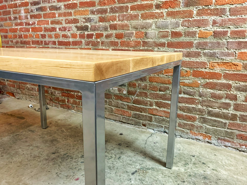 maple office desks made in los angeles