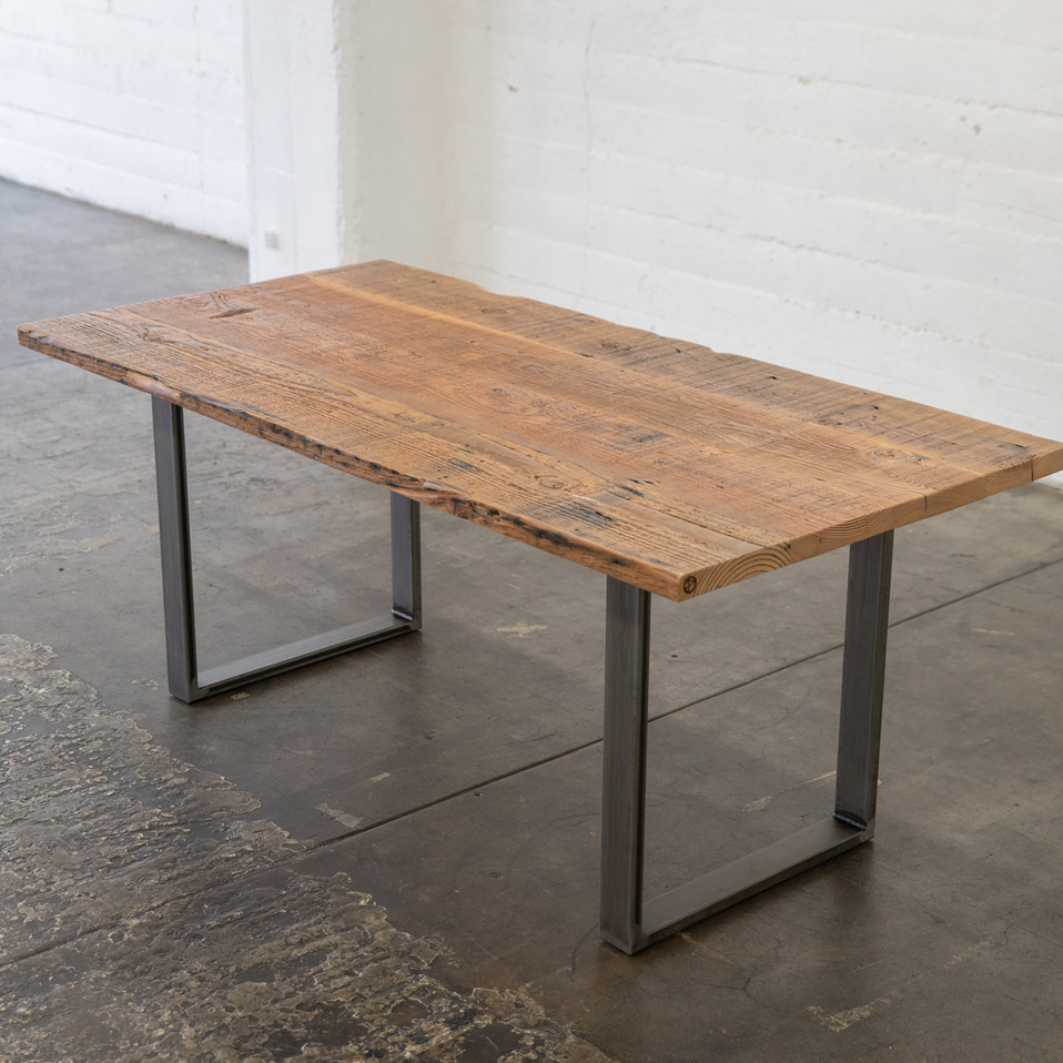 solid reclaimed wood wood tables