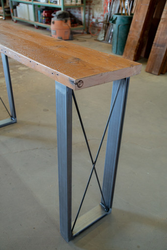 solid wood console tables los angeles