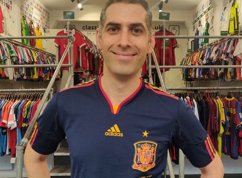 Spain: The Stories Behind The Shirts - 2010 National Team