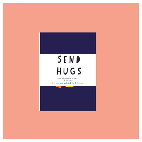 'Hug' postcard bundle