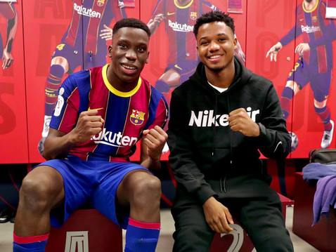 Ansu Fati And Ilaix Moriba: The Future Of FC Barcelona