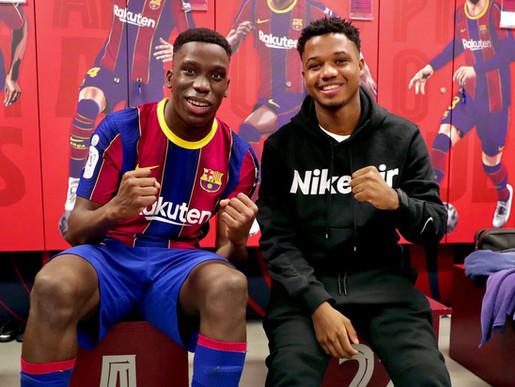 Ansu Fati And Ilaix Moriba: The Future Of FC Barcelona