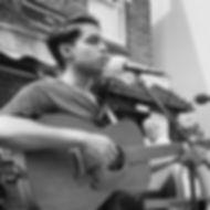 playing at the Rickmansworth Folk Festiv